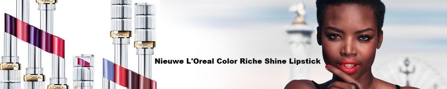 LOreal color riche shine lipstick