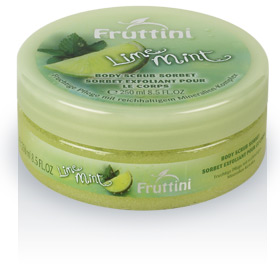 fruttini lime mint body scrub sorbet 250ml fr2332. Black Bedroom Furniture Sets. Home Design Ideas