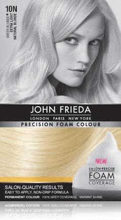 john frieda precision foam color instructions