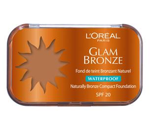 l oreal paris fond de teint bronzant naturel waterproof glam bronze 03 brunes lo3173. Black Bedroom Furniture Sets. Home Design Ideas