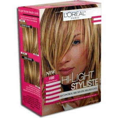 oreal hi-light styliste brush-on highlightsh80 golden honey 7.50