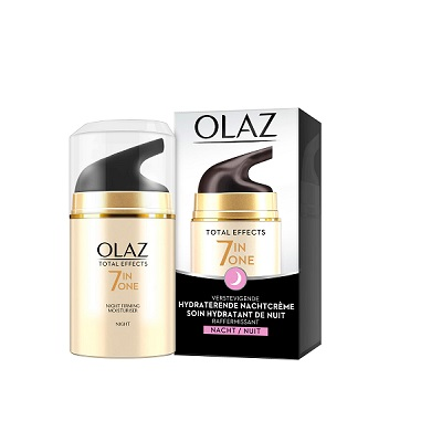 olaz total effects 7in1 one nachtcreme 50ml. Black Bedroom Furniture Sets. Home Design Ideas