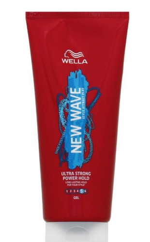 wella new wave ultra strong power hold gel nr 5 200 ml. Black Bedroom Furniture Sets. Home Design Ideas