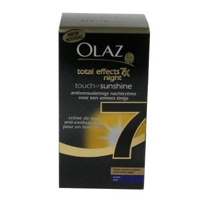 olaz total effects touch of sunshine diepe zomerse gloed
