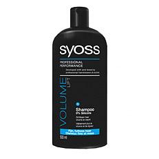 syoss shampoo lift fijn futloos haar 500ml sy5353