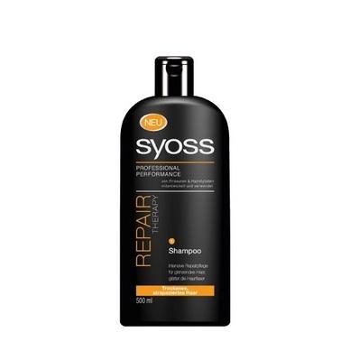 syoss shampoo therapy droog beschadigd haar 500ml st5355